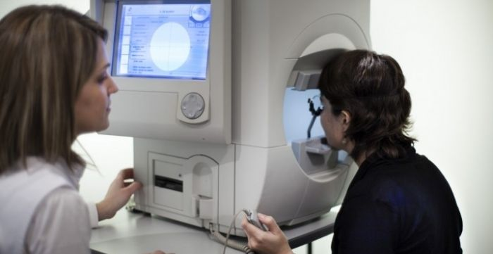 types of glaucoma visual field tests