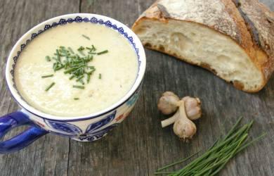 Miracle Garlic Soup Recipe