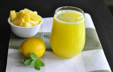 Natural pH Balance with Lemon and Pineapple