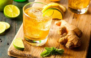 Refreshing Homemade Ginger Ale Recipe that Relieves Migraines