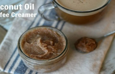 Homemade Coffee Creamer with Coconut Oil