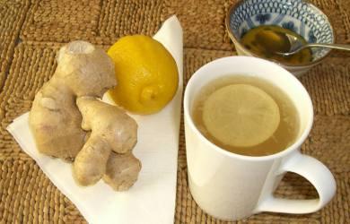 ginger diet tea