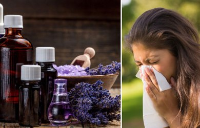 Clear Blocked Sinuses with Essential Oils