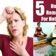 Treat Hot Flashes Naturally