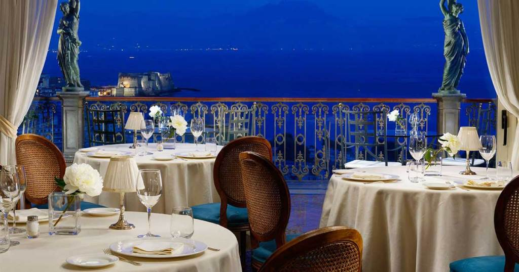 Grand Hotel Parker's, Luxury hotel in Naples Italy
