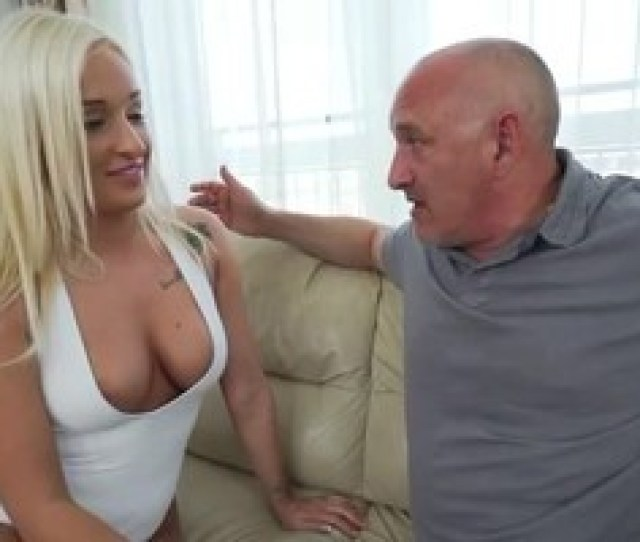 Young Blonde Fucked By Old Man
