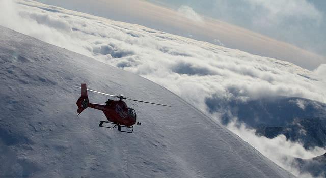 Kebnekaise Helikopter