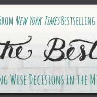 The Best Yes :: A Conversation with Lysa TerKeurst