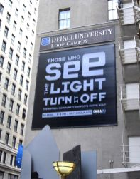 DePaul Earth Hour_CX_1200xSignage