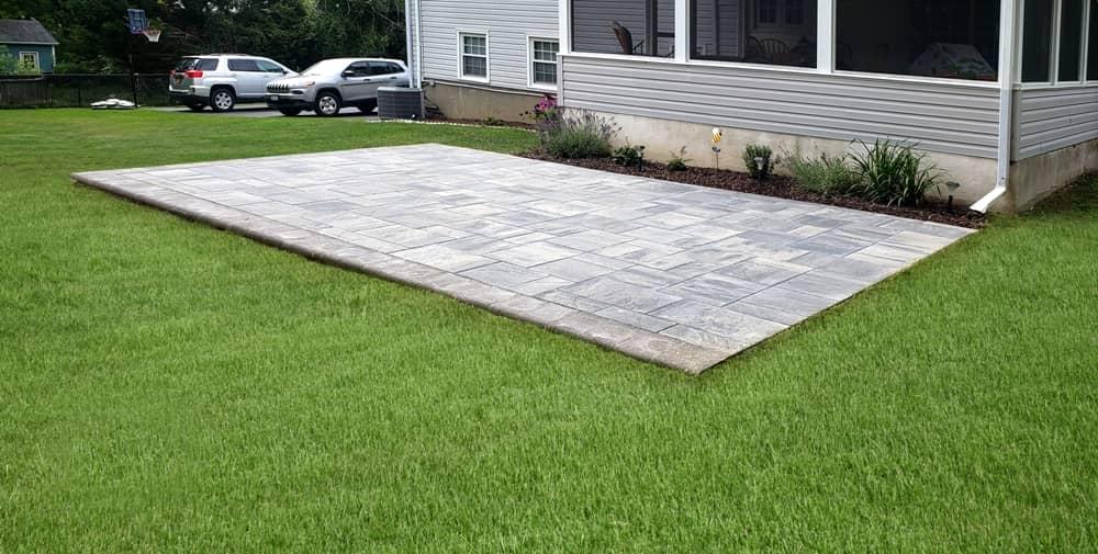 nicolock pavers patio installation