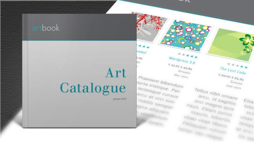 Free Art Catalogue Indesign Template Design Your Own Catalog Free