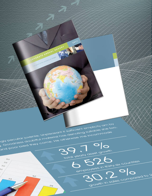 Corporate Annual Report 1  Annual Reports Templates
