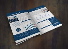 company annual report template download design your own