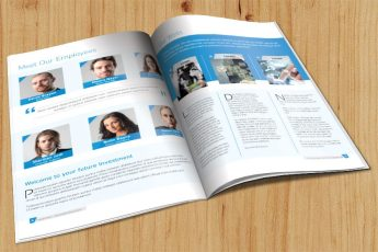 Investment Firm Brochure Inside Preview