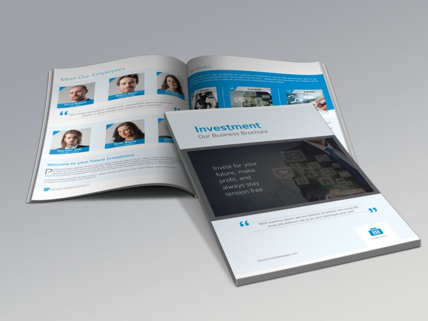 Investment Firm Brochure Top Two Preview