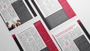 political newsletter tabloid flat wall