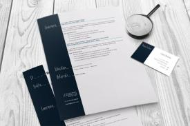 Resume and business card set indesign cs4 template resume and business card magnify colourmoves