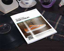 shoes retail catalog template cover
