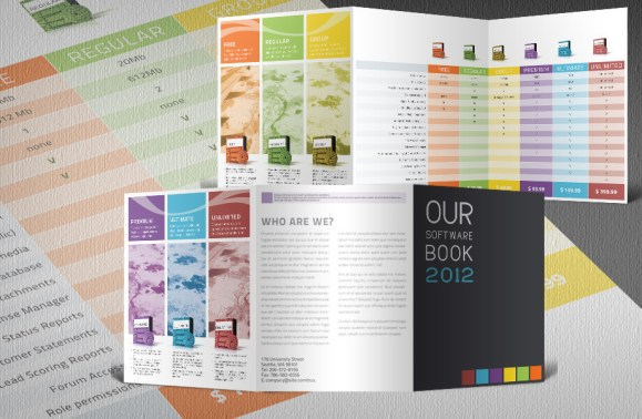 Software product catalogue template