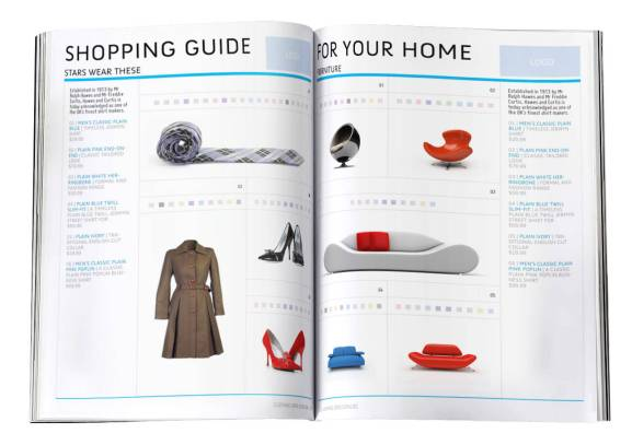 Clothing Grid Catalog InDesign Template - 16 Pages to Customize