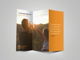 Church bulletin trifold brochure download 6 layout pages trifold church brochure cover preview thecheapjerseys Gallery