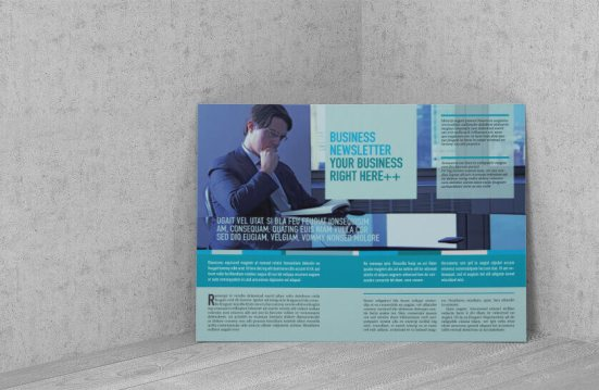investment newsletter standing wall