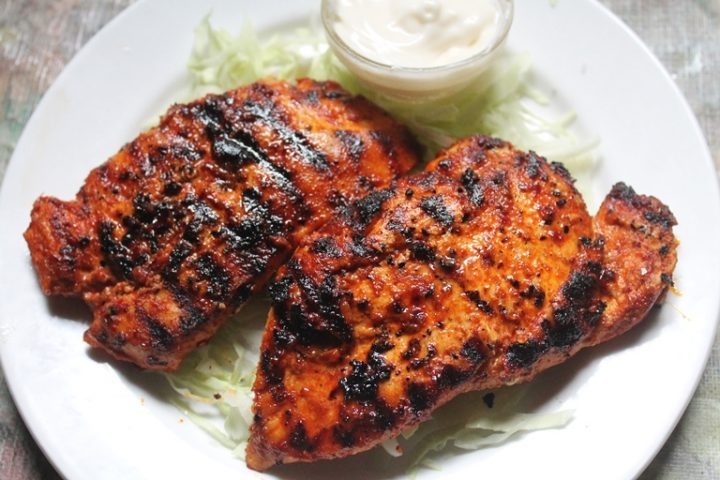 Spicy Grilled Chicken Breast - Best Indian Cooking - 7000 ...