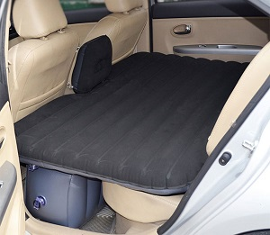 Inflatable Car Suv Back Seat Air Bed Mattress In Diffe Colors For Sleeping The Backseat