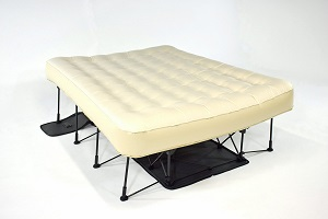 Ivation Ez Air Bed Up Mattress Raised On Stand Uses Standard Queen Size Sheets