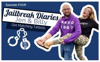 The Jailbreak Diaries: Getting Matching Tattoos