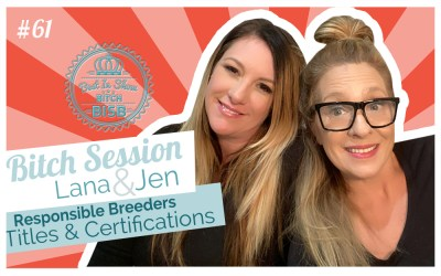 What Is A Responsible Dog Breeder – Champion Titles & Health Certifications