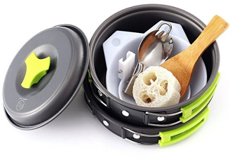 best camping mess kit