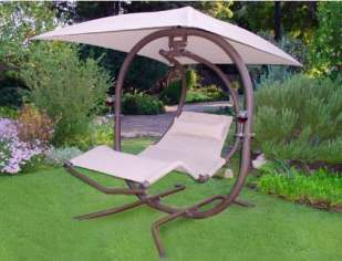 Sunset swing 421L two person lounge canopy swing