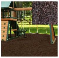 Kidwise Swing Set Playground Rubber Mulch