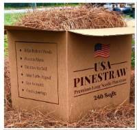 Premium Long Needle Pinestraw Mulch