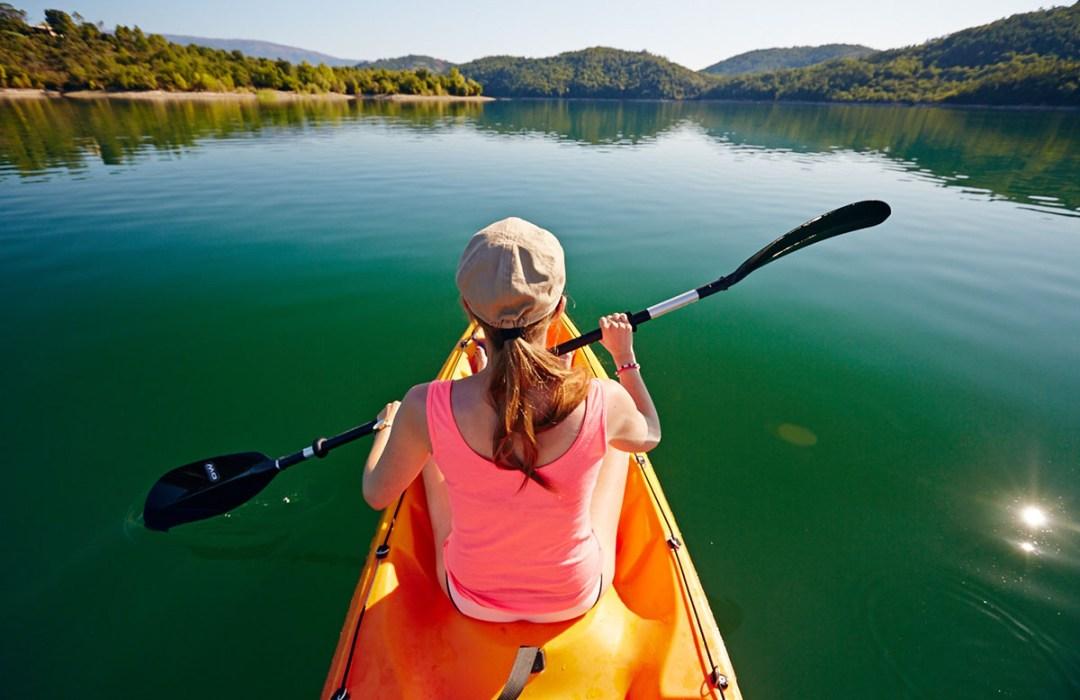 Kayak Lac de St Cassien