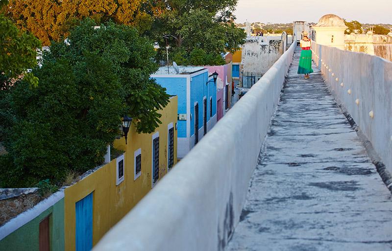 Rempart Campeche Mexique