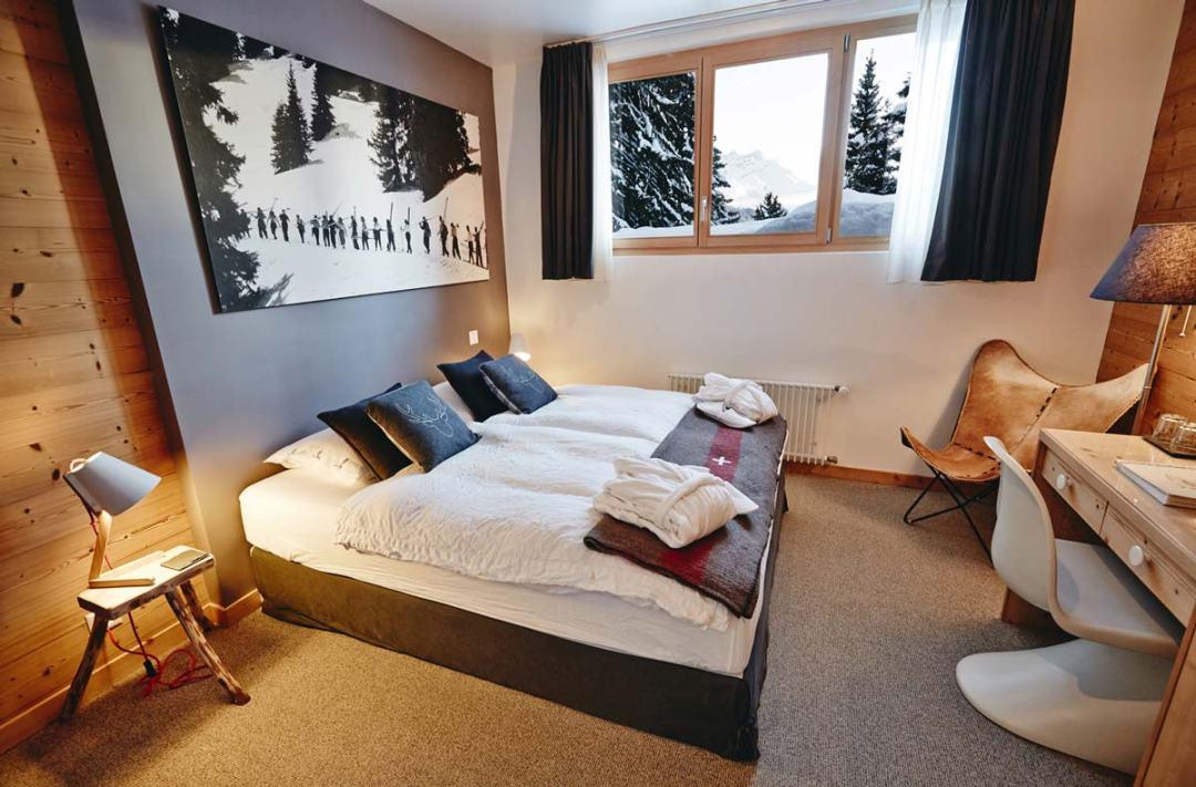 Chambre d 39 hote design suisse for Chambre arabo suisse