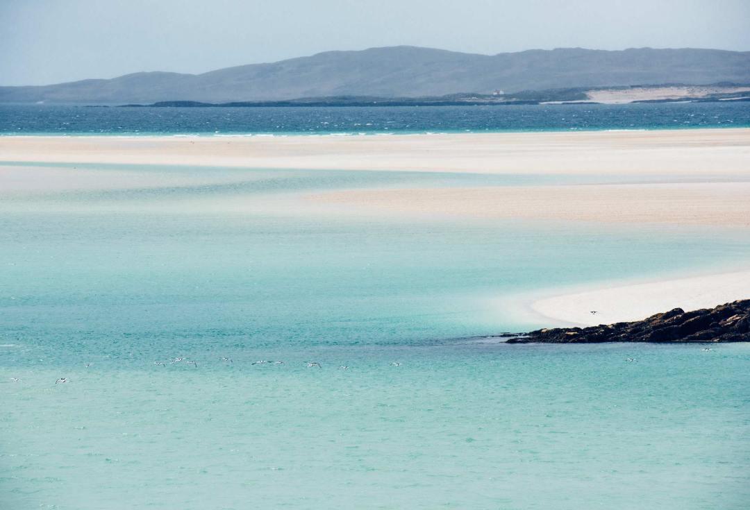plage de rêve ecosse Luskentyre