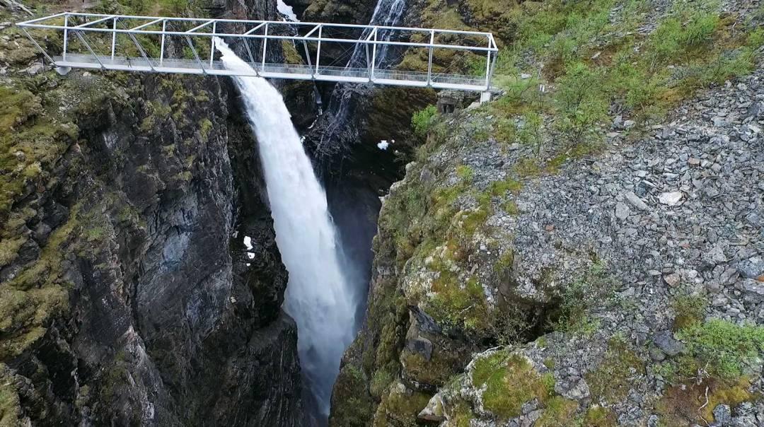 cascade norvege du nord tromso