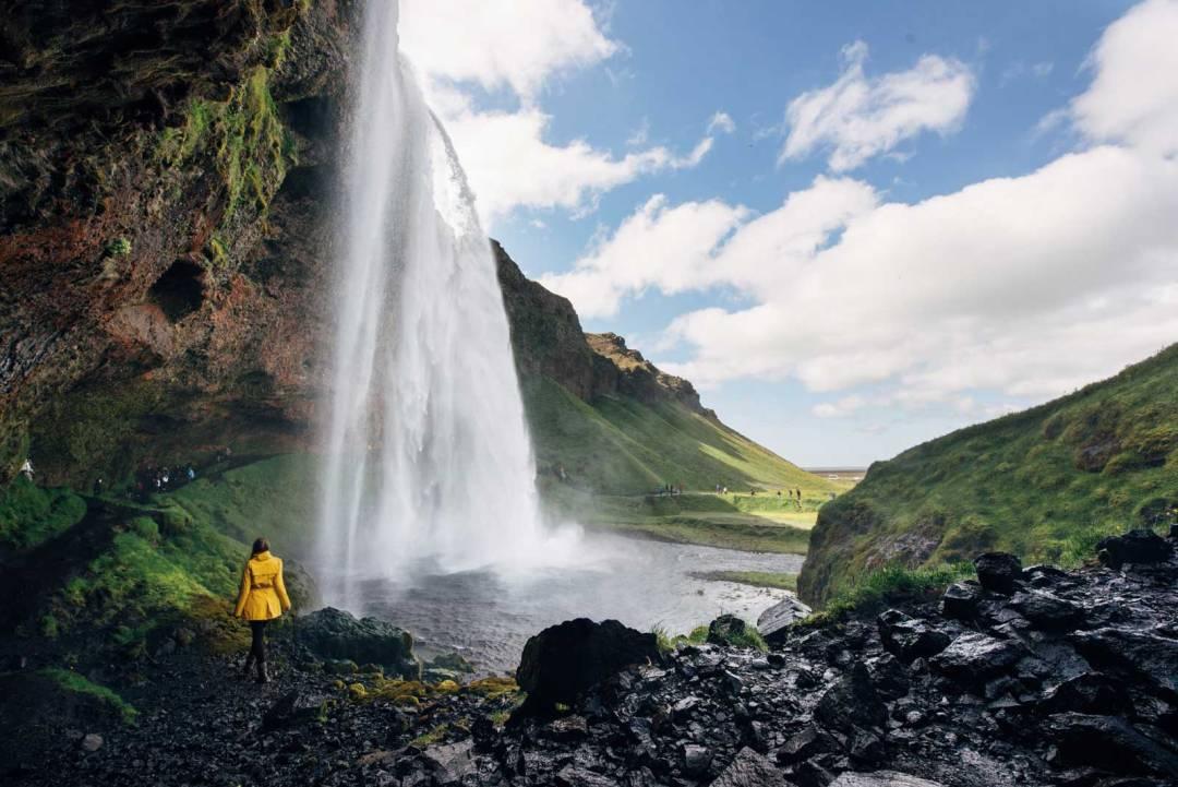 belle Casade islande Seljalandfoss