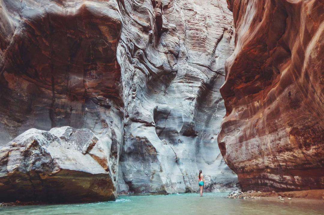 wadi mujib jordanie canyoning