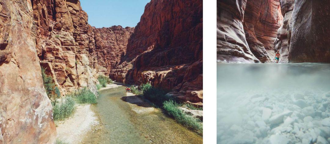 canyoning jordanie