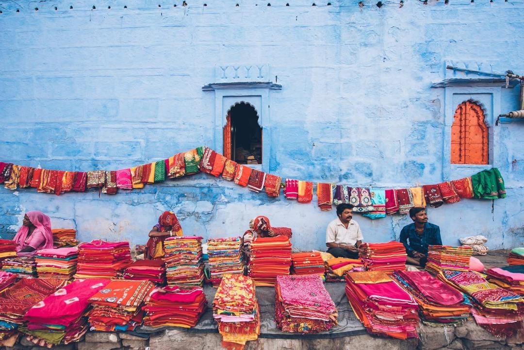 jodhpur ville bleue inde