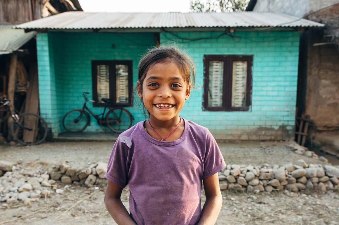 village tharu nepal