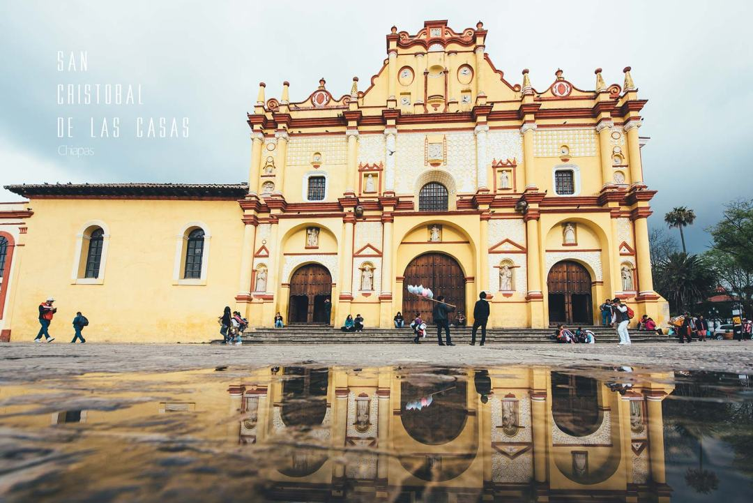 Eglise, San Cristobal de las Casas, Chiapas, Mexique