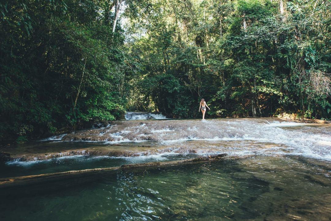Rivière Lacanjá, Chiapas, Mexique