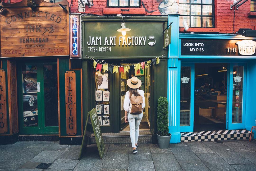 Que voir à Dublin? le quartier de Temple Bar