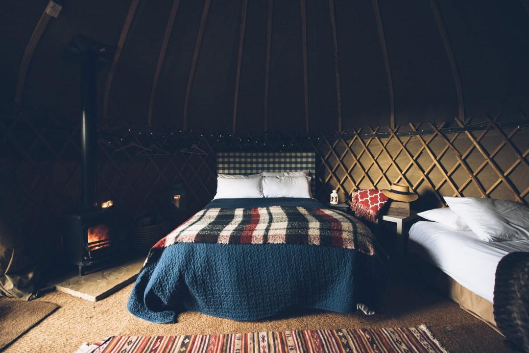 Dormir dans une yourte près de Dublin, Slane