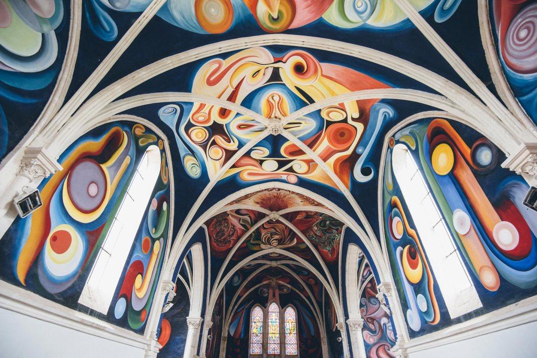 Une église pas comme les autres en Berry: L'église du Menoux